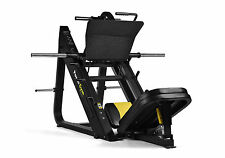 PowerGym Fitness Full Commercial 45 Degree Leg Press Machine Gym Hack Squat