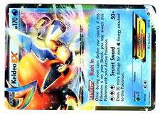 POKEMON BW11 BLACK & WHITE LEGENDARY TREASURES HOLO N°  45/113 KELDEO EX 170 HP
