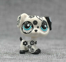 Littlest Pet Shop LPS Animals Toy #1613 Tattoo Dalmation Black & White Dog Loose