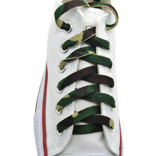 "45"" Flat Athletic ""Camouflage"" width(8mm) Sneaker Shoelaces 1Pairs"