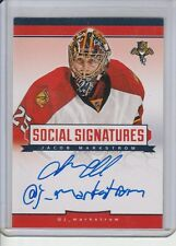 JACOB MARKSTROM @ SOCIAL SIGNATURES AUTOGRAPH 13-14 CROWN ROYALE AUTO