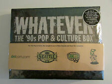 Whatever - The '90s Pop and Culture Box - 7 CD Box Set 130 Tracks SEALED NEW