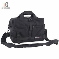 EIRMAI Black DSLR Camera Bag Messenger Shoulder Bag For Canon 60D 5DII Nikon