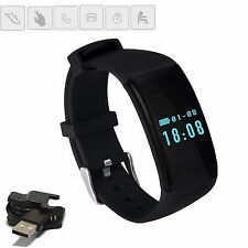 Waterproof Bluetooth Wristband Smart Watch Heart Rate For Android Samsung LG HTC