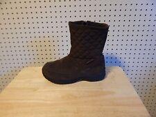 Womens Eddie Bauer weatheredge Snow Winter Boots #2995  - size 7M - brown