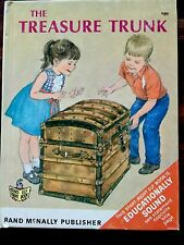 The Treasure Trunk ~ Large Start Right Elf Book ~ Vintage Children's Book