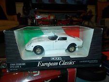 1966 Ferrari 275 GTB 4   1:18 ERTL European Classics   WHITE