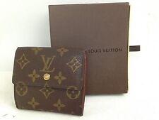 Auth Louis Vuitton Monogram Wallet purse 4l170070