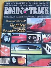 ROAD & TRACK MAGAZINE JULY 1983 NEW PORSCHE BMW 318i CHEVROLET CAVALIER ENTHUSIA
