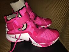 Nike Lebron Soldier IX 9 Rare Shoe Sold Out Vivid Pink Size 12
