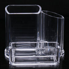 Clear Acrylic Makeup Cosmetic Organizer Lipstick Brush Display Holder Stand HOT