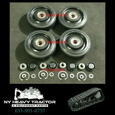 "2238398 223-8398 REAR Bogie Wheel Kit 10"" X4 Caterpillar 247 257 247B 257B CAT"