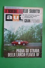 AUTO ITALIANA 27 1966 GP D'ITALIA MONZA PARMA-POGGIO DI BERCETO MAGLIOLI CLAUDIO
