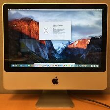 "Apple iMac 9,1 Core 2 Duo 20"" 2.26GHZ 4GB RAM 160GB HD 2010 -A1224 - MC015LL/B"