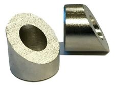 """10 LUX Angle or Beveled Washers 1/4"""" Inside Diameter 35 Degree Angle"""