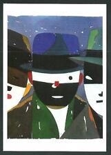 Eduardo Arroyo : Brelan - cartolina realizzata nel 1984 - nuova e perfetta