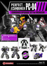 PerfectEffect PC04 PC-04 MENASOR Combiner Wars UPGRADE SET TRANSFORMERS