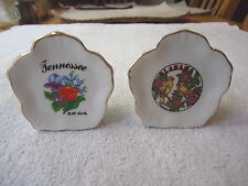 "Vintage Set Of 2 Tooth Pick Holders "" AWESOME RARE COLLECTABLE SET """