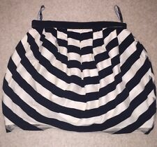 Topshop Mini Tulip Black And White Skirt Size 10
