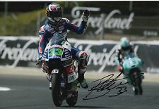 Enea Bastianini Hand Signed 12x8 Photo Gresini Honda Moto3 2016 MOTOGP 9.