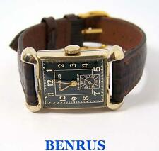 Vintage BENRUS 10k GF Mens Winding Watch c.1940s Cal AK16* EXLNT* SERVICED