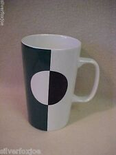 2014 Starbucks Company Tall 16 oz Coffee Mug~DOT~Green White Black