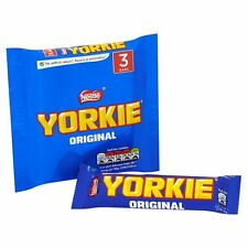 Nestle Yorkie 3 Pack 138G British Food Chocolate Sweets Candy Free Shipping