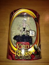 The Lord Of The Rings The Two Towers Gollum Electric Sound MOC Toy Biz
