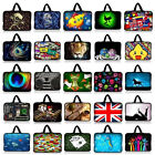 "Many Designs 15"" Inch 15.4"" 15.5"" 15.6"" Laptop Soft Bag Handle Sleeve Case Cover"