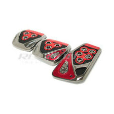 Razo Pedals RP104RE GT Spec Red Universal Fitment Japanese Cars Carmate JDM