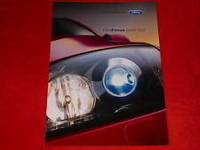 """FORD Focus """"Sport TDCi"""" Sondermodell Prospekt von 2006"""