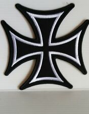 "Toppa Termoadesiva/Thermoadhesive Patch ""CROCE DI MALTA/MALTESE CROSS ( AE 02)"