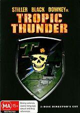 TROPIC THUNDER - Ben Stiller, Robert Downey jr, Bill Hader DVD Region 4