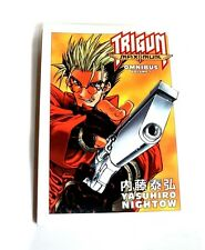 TRIGUN VASH Anime Manga Graphic  Novel Comic Book Ominbus Edition Volume 1