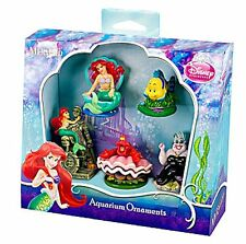 Disney Little Mermaid Aquarium Decoration/Ornament Set Complete