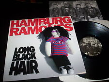 "Hamburg Ramönes ""Long Black Hair"" LP with insert Tornado Ride Records ‎– TRR 040"
