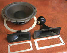 ESS HD-1000 tweeter + midrange + woofer new surround! Foster speaker driver horn