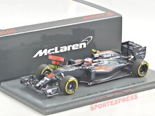 NEW 1/43 SPARK s5024 McLaren mp4-31, Malaysian GP 2016, button with pitboard