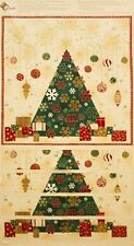 NATALE ADVENT CALENDARIO IMBOTTITURA PANEL - STOF BRILLANTE CHRISTMAS100% COTONE