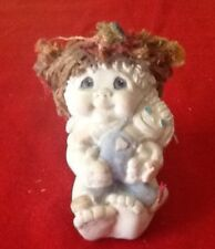 "DREAMSICLES CAST ART ""RAGAMUFFIN"" ANGEL and RAGGEDY ANN DOLL SCULPTURE - NEW"
