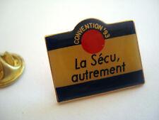 PINS RARE LA SECU AUTREMENT SECURITE SOCIALE SANTE ASSURANCE MALADIE