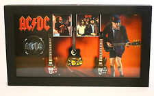 RGM8801 Angus Young ACDC Miniature Guitars in Shadowbox Frame