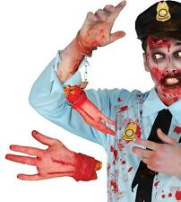 Halloween rubber severed hand gross realistic bloody hands decoration prop gory