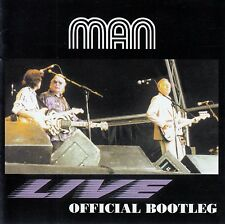 MAN : LIVE - OFFICIAL BOOTLEG / CD - TOP-ZUSTAND