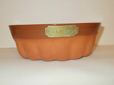 1869 The Victorian Pottry Terracotta Pottery Jelly Mould - Lovely