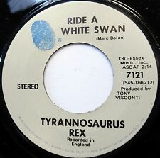 TYRANNOSAURUS REX Ride with a swan / Is it love 45 T Rex MARC BOLAN MINT-  a866