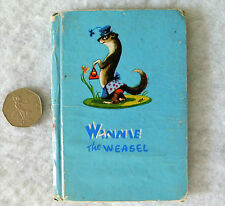 Winnie the Weasel 1940s childrens animal story Peeko book Patience Powell rhyme