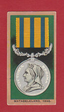F.  &  J.  SMITH  -  RARE  MILITARY  /  MEDALS  CARD  -  NO. 44  -  1906