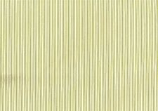 Magnolia Fabric Oxford Pasture Green White Stripe Cotton Drapery Upholstery B105