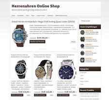 ★ HERRENUHREN ONLINE SHOP Geschäftsverkauf ★ Webprojekt Einnahmen ★